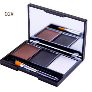 Double Function Kit (Eyebrow+Eyeshadow Palette) #BAPAU