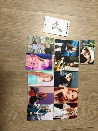 🚚 Blackpink rosé photocards