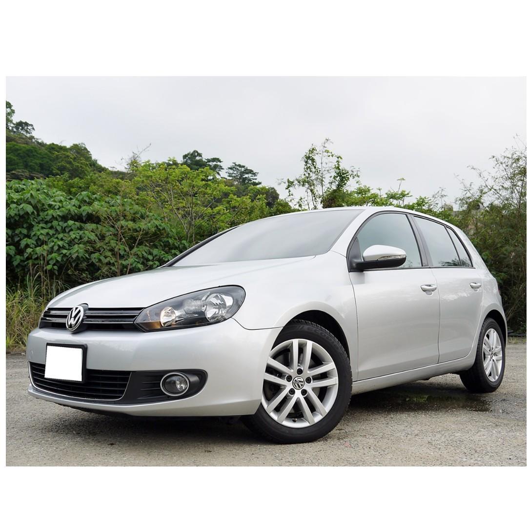 全額貸款-2009年 福斯   GOLF 1.4TSI 已認證 全車原鈑件 里程保證 履約無事故 泡水