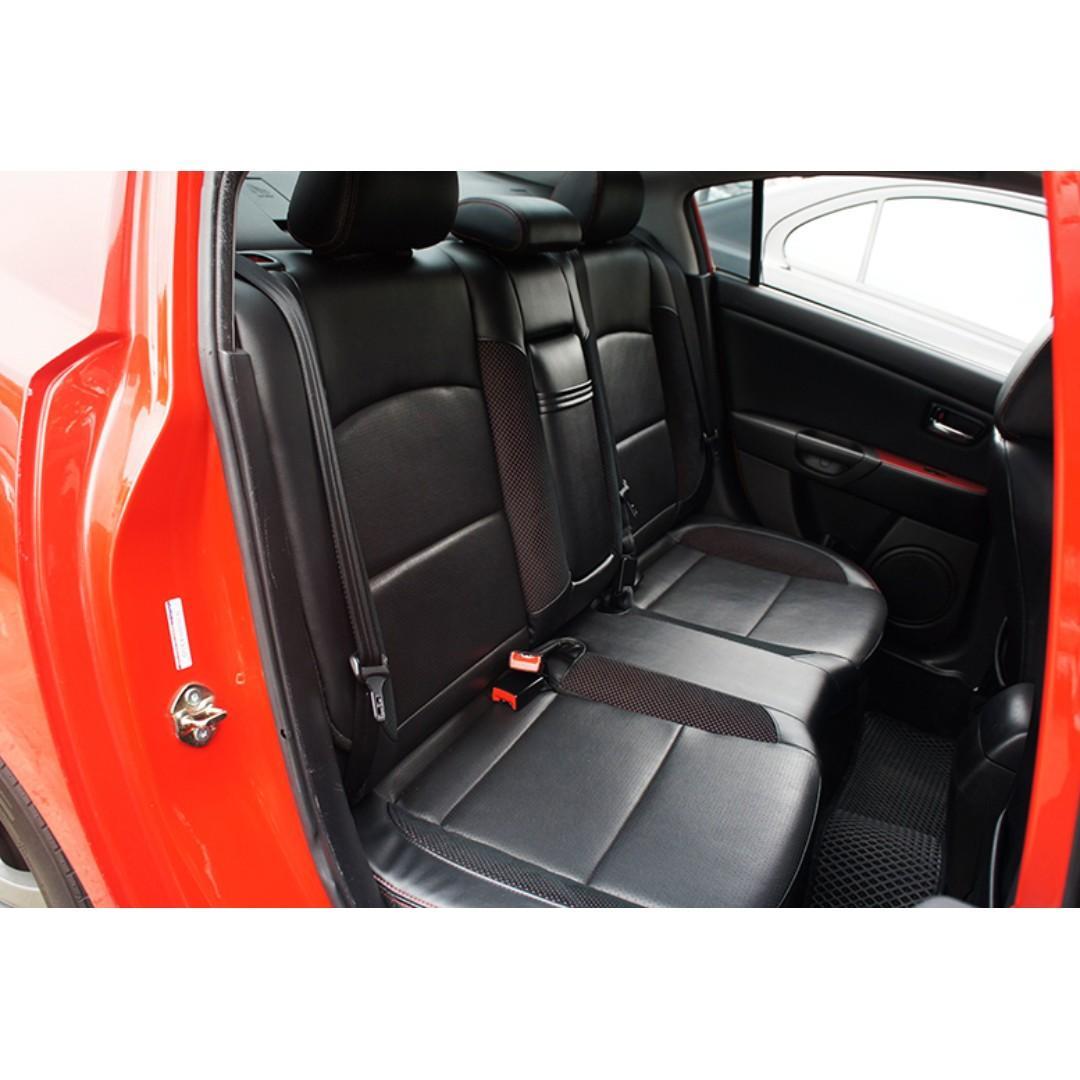 2009年Mazda 3 紅 2.0s 『阿賢精選車坊』賞車專線:0908169110
