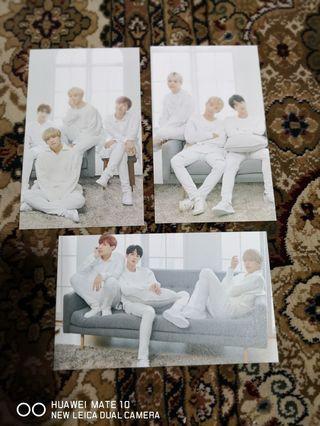 🚚 BTS Mediheal Postcards
