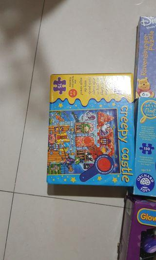 Puzzles jigsaw ee