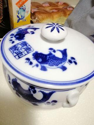 Chinese double boiler pot