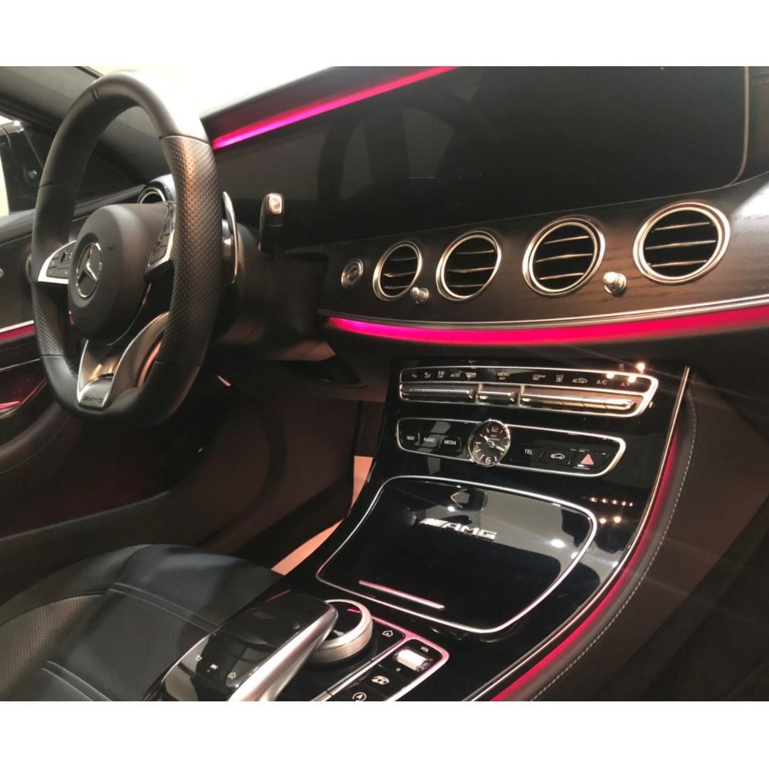 2017 BENZ E63S 4Matic 8缸 AMG夜色套件  612hp