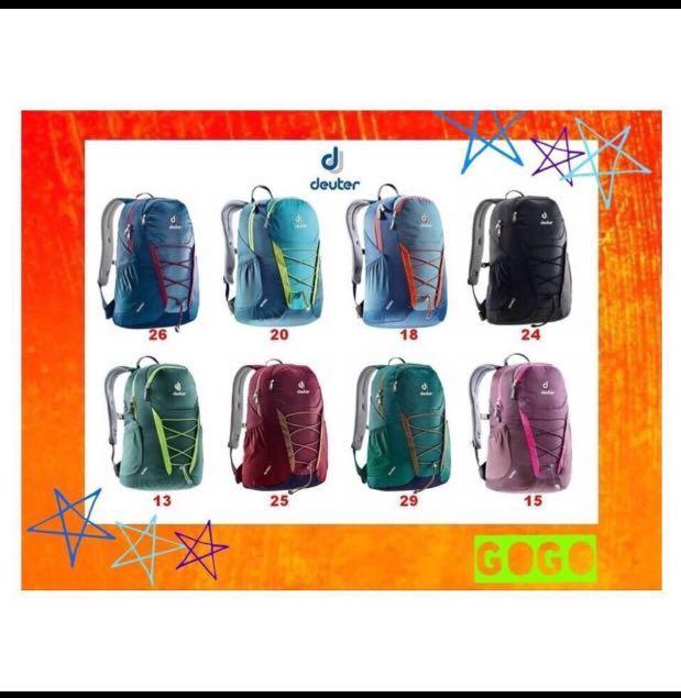 212ff344f66e 💚2019💚 Deuter GOGO Daypack Backpack School Bag Work | School | Travel