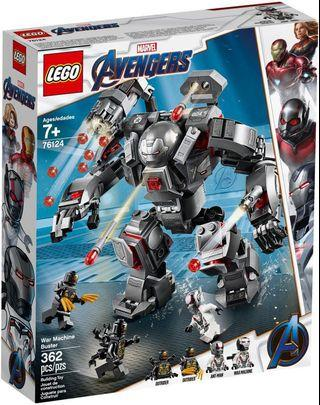 Lego 76124 War Machine Buster