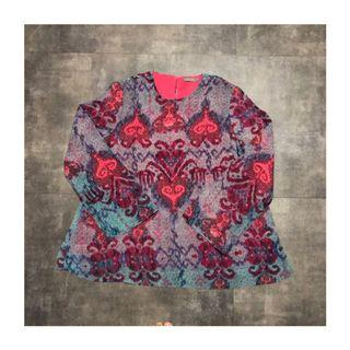 POPLOOK Bohemian Floral Top