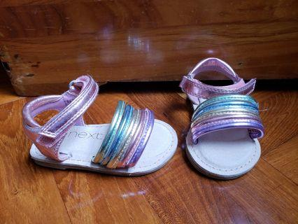 Brand new next sandals shoes for baby girl size UK3