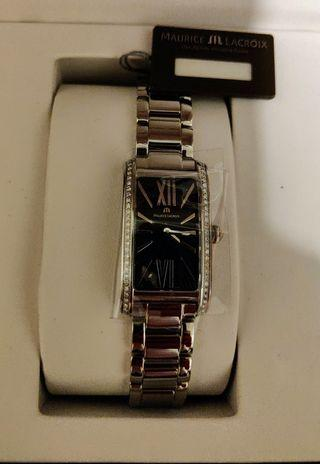 Maurice Lacroix Fiaba Diamond Black Dial Ladies Watch