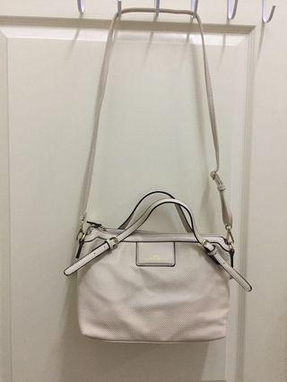 Valentino creations beige colour handbag