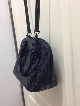 Valentino creations dark royal blue handbag