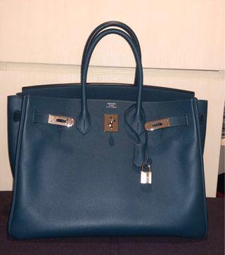 b31fe428a7a1 Hermes Birkin 35 Colvert Epsom Leather PHW