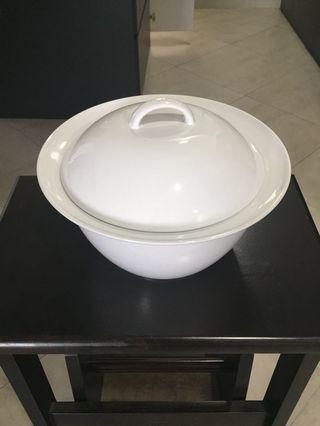 Glass big bowl