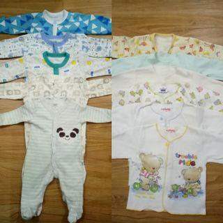 Baby cloths new born s/d 3bln