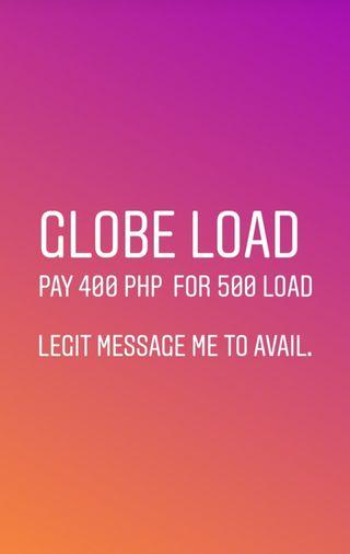 Globe load