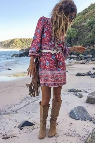 *RARE* Spell and the Gypsy Collective Folktown Wine Playdress