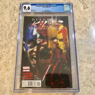 Deadpool Kills The Marvel Universe #1 CGC 9.6 comics
