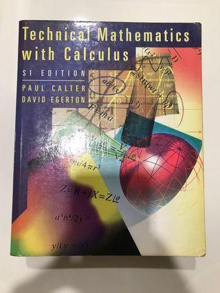 🚚 Technical Mathematics with Calculus