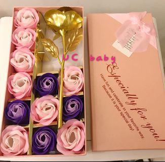 🚚 玫瑰香皂花