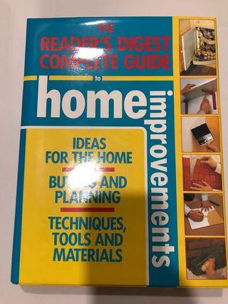 🚚 The Reader's Digest Complete Guide to Home Improvements