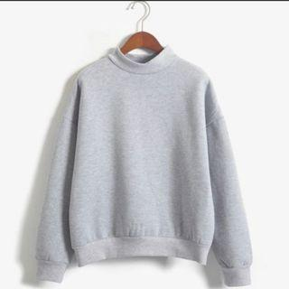 #others Grey Oversize Pullover