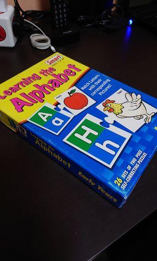 Alphabet cards puzzle