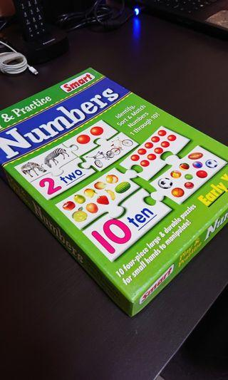 Number cards puzzle