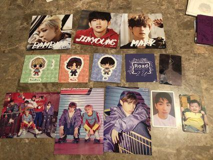 GOT7 official merch and photocards