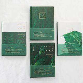 Leaves of Grass Hardcover Mixed Notebook B6
