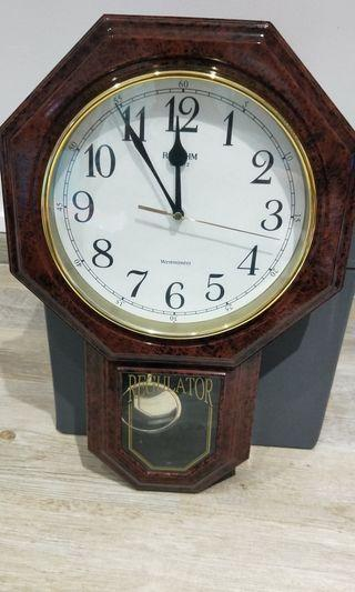 Vintage Clock Rhythm Quartz Westminster