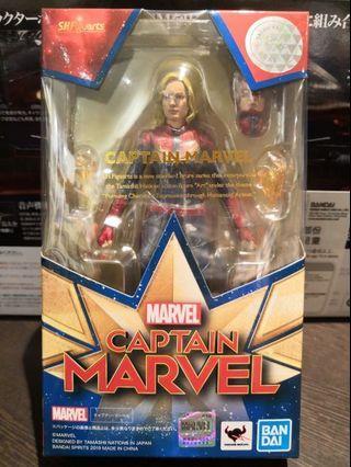 全新日版 Captain Marvel SHF Figurate