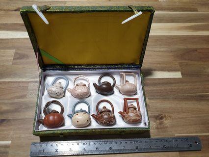 🚚 Chinese Tea Set miniature 8