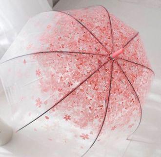 全新 櫻花長傘