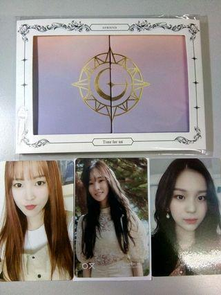 [WTS FAST] GFRIEND TIME FOR US & TFTMN PC