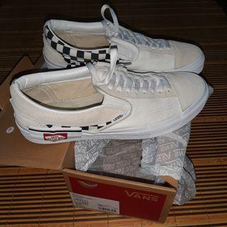 Vans Slip On Cut & Paste Checkerboard True White