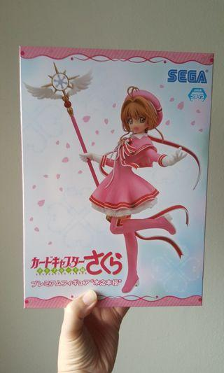 "(Authentic) Cardcaptor Sakura: Clear Card - Premium Figure ""Sakura Kinomoto"""