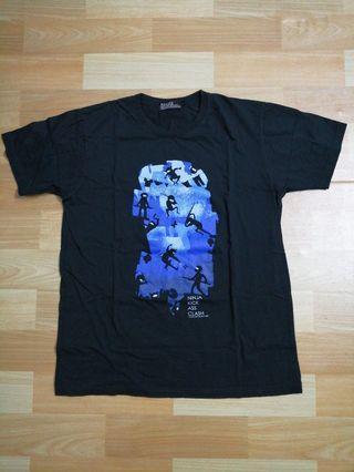 Ninja Kick Ass Clash Shirt For Sale