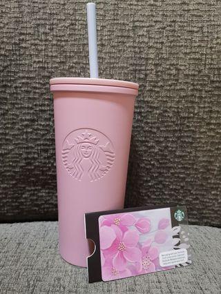 Starbucks sakura stainless Steel tall size cool cup