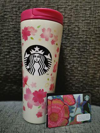 Starbucks limited edition sakura tumbler