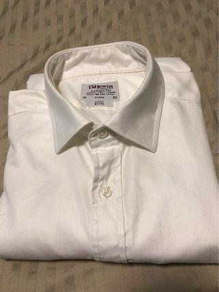 TM Lewin white luxury Slim fit 16/33