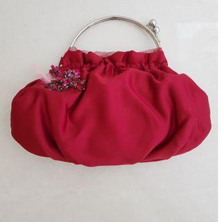 Nine West - Clutch in Red