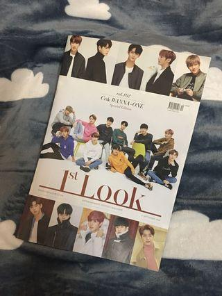 Wanna one 1st look