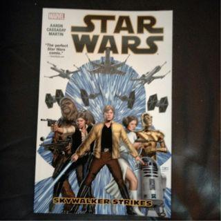 Marvel Comic Star Wars Vol 1 - Skywalker Strikes 2015 TPB by Jason Aaron, John Cassaday & Laura Martin !