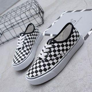 Preorder: checkerboard/plaid shoes