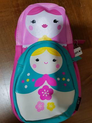 Smiggle doll pencil case