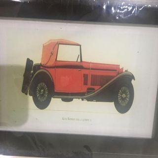 4R size photo frame (wooden frame)
