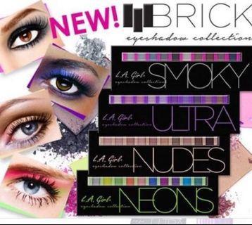 Instock LA Girl Beauty Brick Eyeshadow Palette