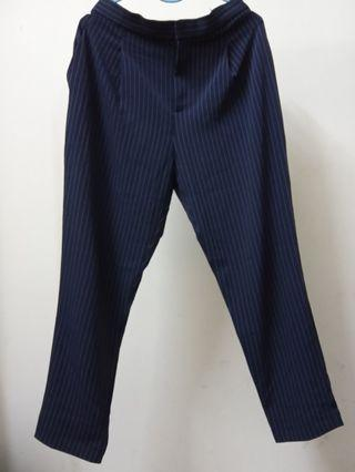 Striped Tapered Pant