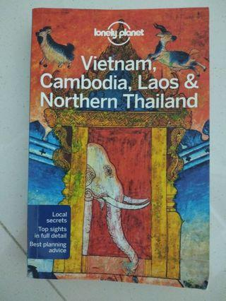 Lonely planet - travel guide - Vietnam, Cambodia, Laos & North Thailand