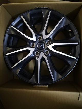 Mazda cx3 ori rim 18inch.
